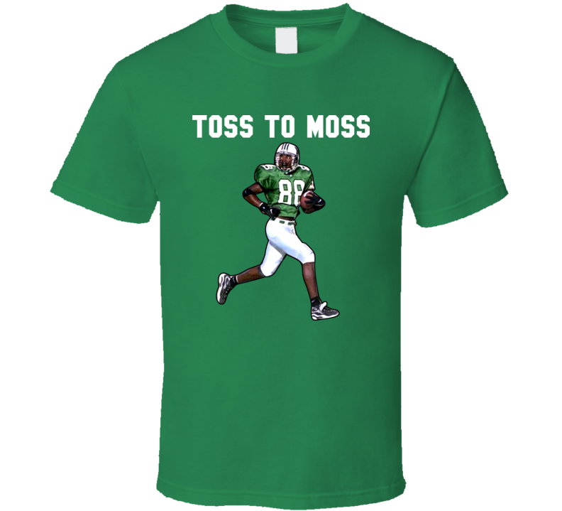 Randy Moss Toss To Moss Football Retro T Shirt