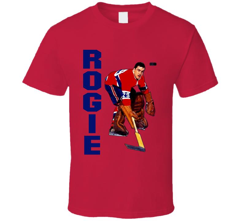 Rogie Vachon Montreal Hockey T Shirt