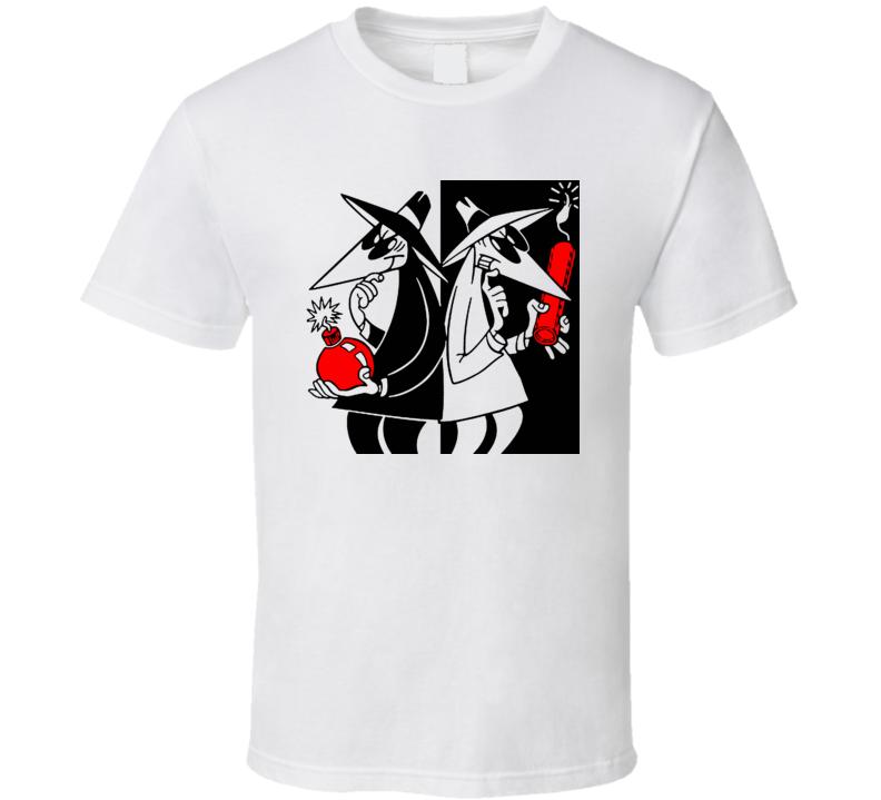 Spy Vs Spy Mad Magazine Funny T Shirt