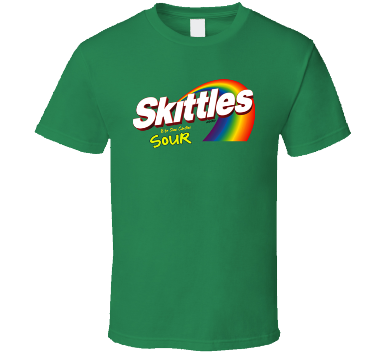 Skittles Sour Candy T Shirt