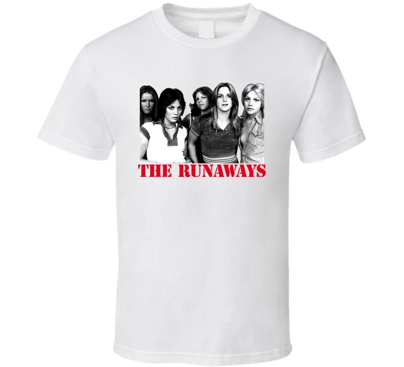 The Runaways Music T Shirt