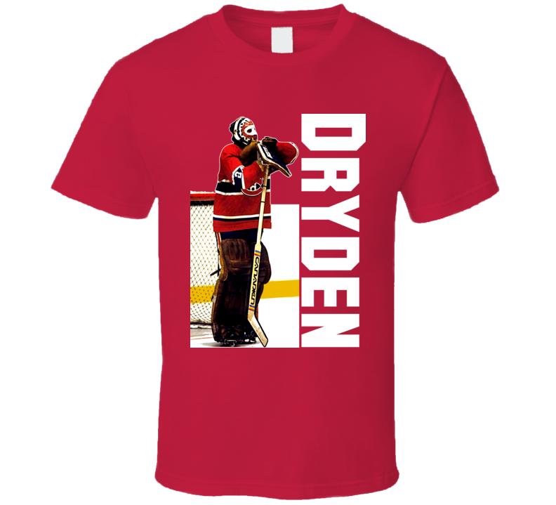 Ken Dryden Montreal Classic Goalie T Shirt