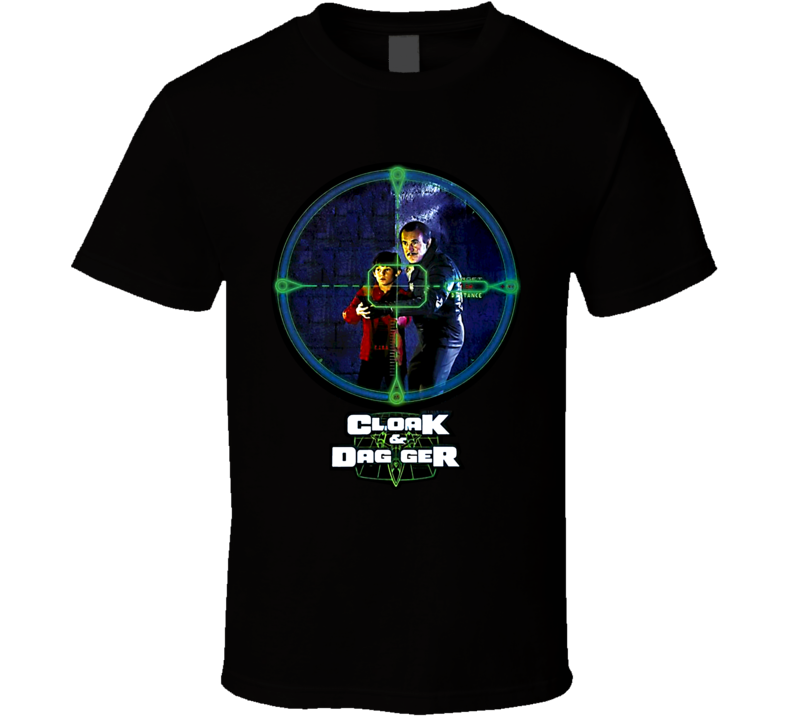 Cloak And Dagger Movie T Shirt