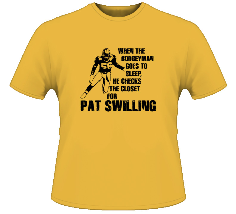 Pat Swilling Boogeyman New Orleans Football T Shirt