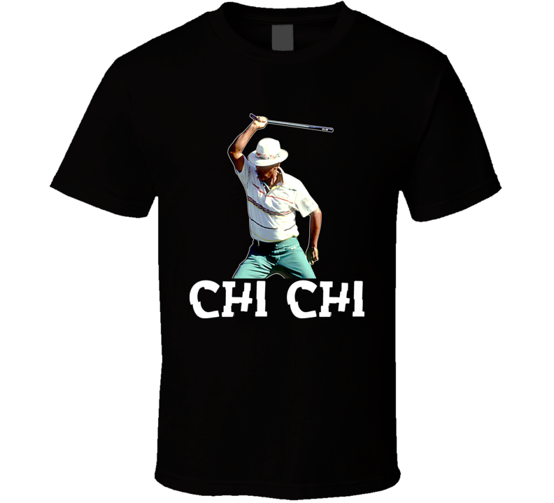 Chi Chi Rodriguez Celebration Golf T Shirt