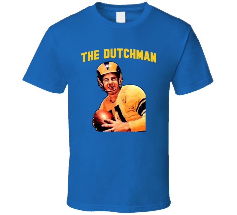 The Dutchman Norm Van Brocklin Football T Shirt