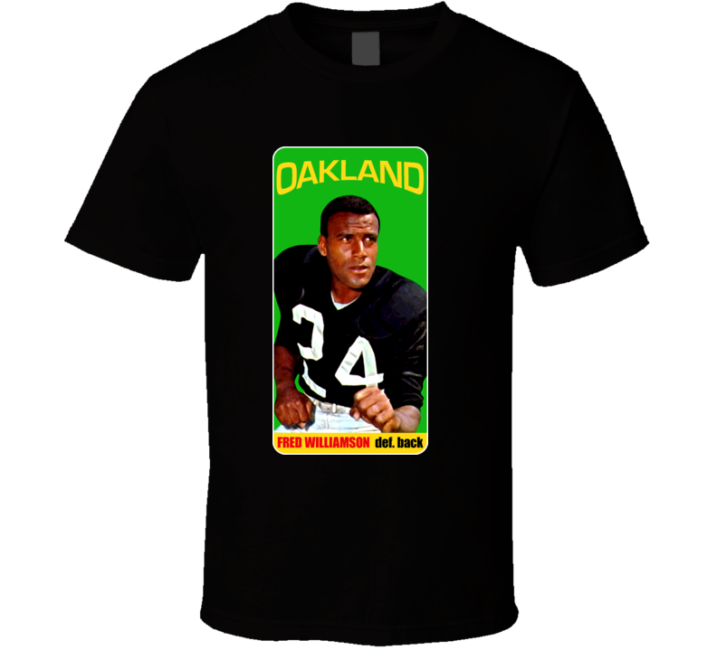 Fred The Hammer Williamson Retro Card Football T Shirt