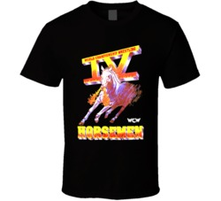 Wcw Four 4 Horsemen Wrestling Legends T Shirt