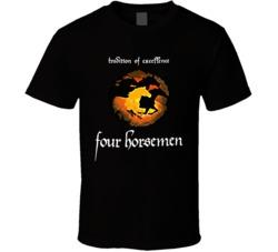Four Horseman Retro Wcw Wrestling T Shirt