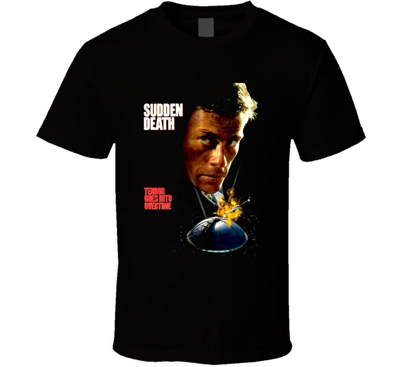 Sudden Death Van Damme Action Movie T Shirt