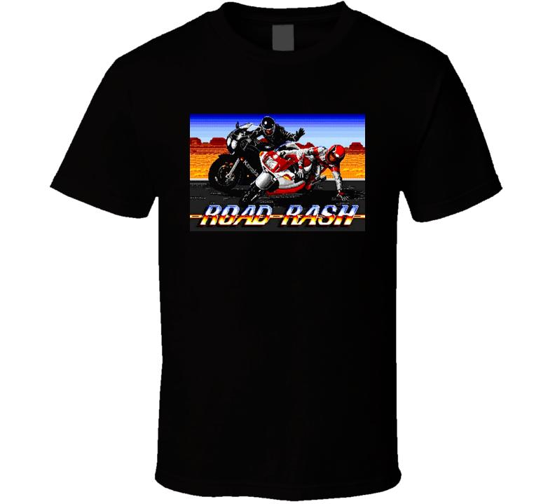 Road Rash Sega Video Game T Shirt