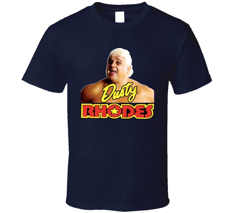 Dusty Rhodes Classic Wrestling T Shirt