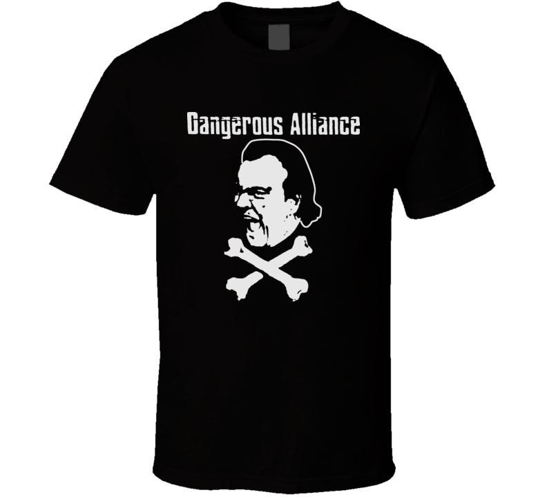 WCW Dangerous Alliance Wrestling T Shirt