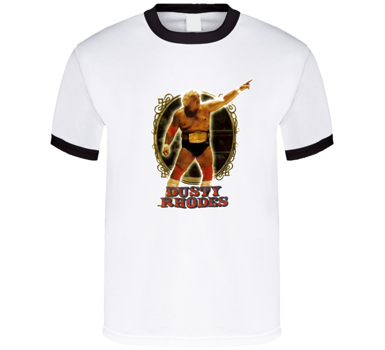 Dusty Rhodes Classic Wrestling Legend T Shirt