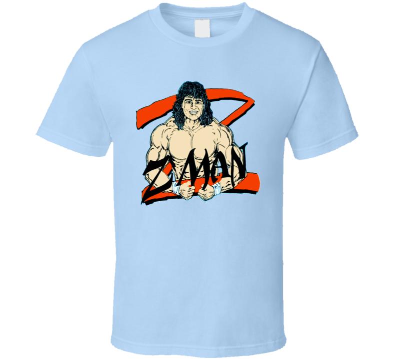 Tom Zenk Z Man WCW Retro Wrestling T Shirt