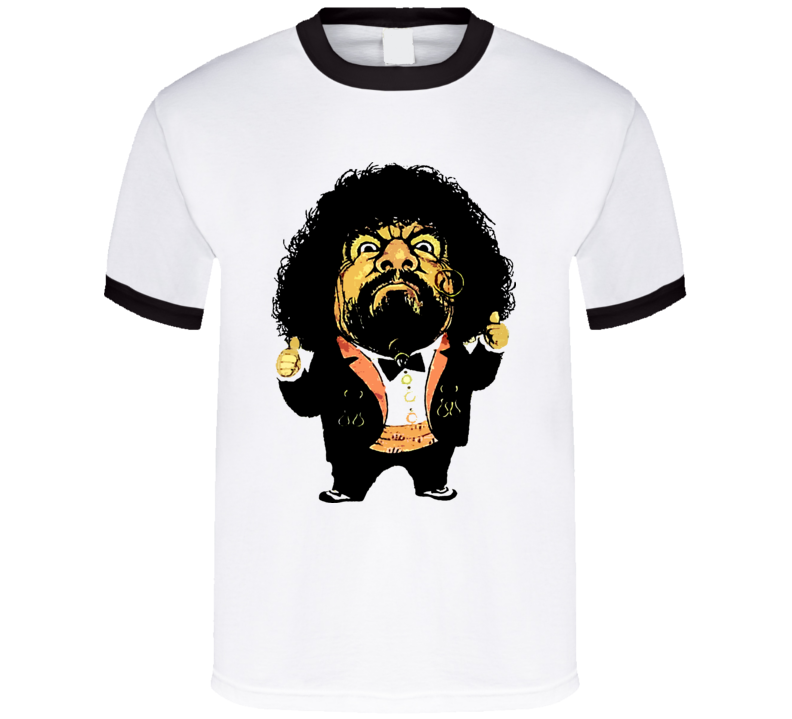Captain Lou Albano Retro Wrestling T Shirt