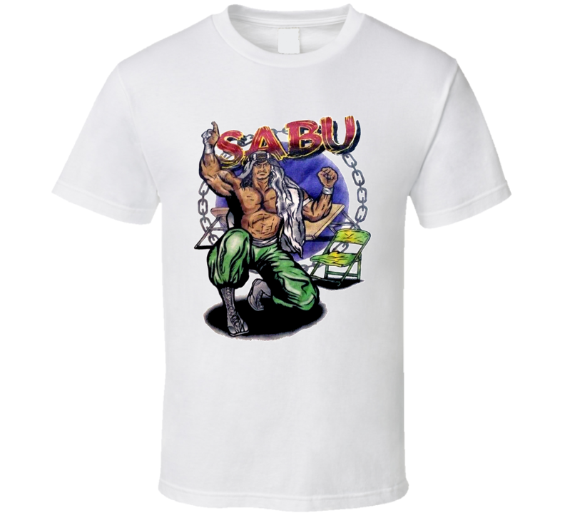 Sabu ECW Wrestling T Shirt
