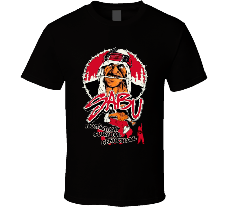 Sabu ECW Wrestling Legend T Shirt