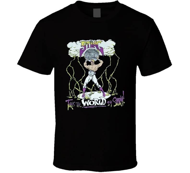 Sting WCW Retro Wrestling Legend T Shirt