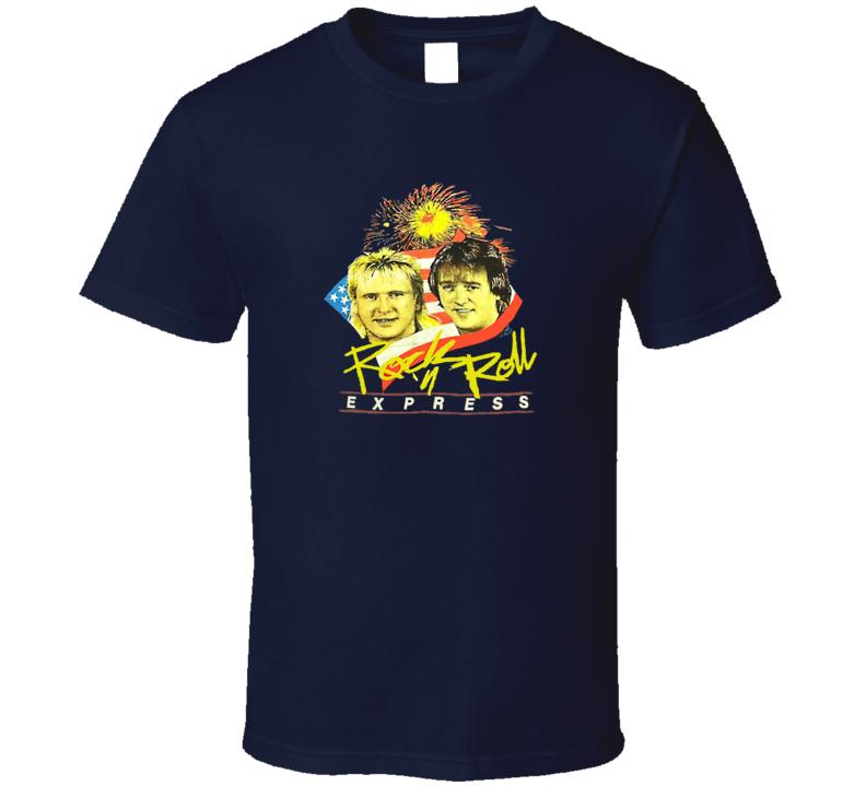 Rock n Roll Express Tag Team Wrestling T Shirt
