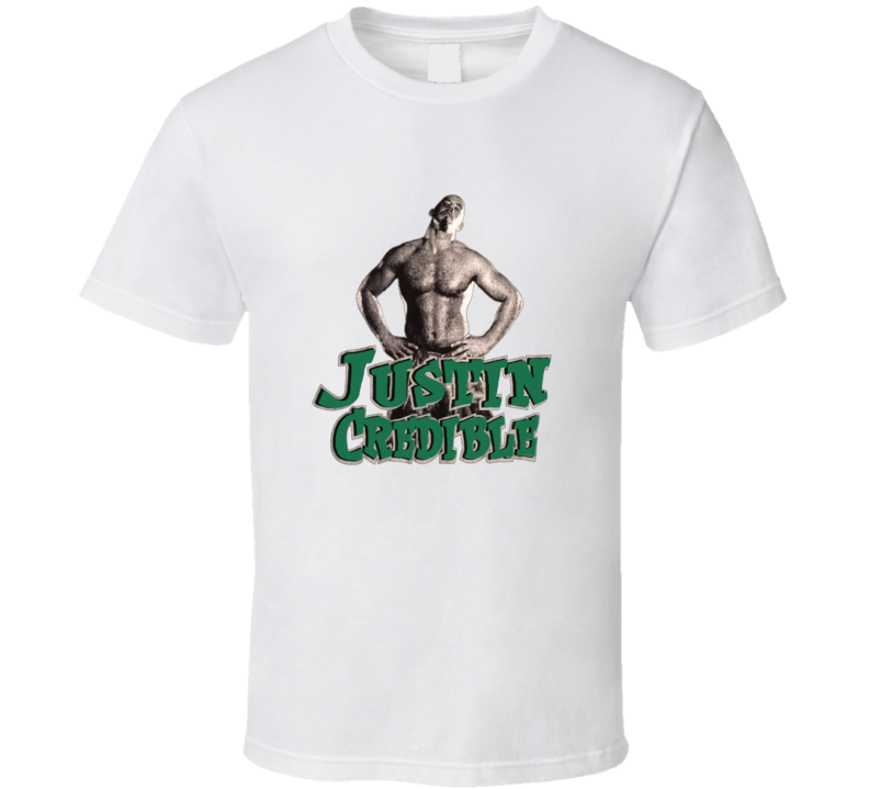 Justin Credible ECW Wrestling T Shirt