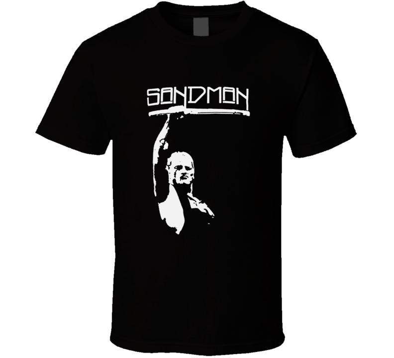 Sandman ECW Wrestling Legend T Shirt