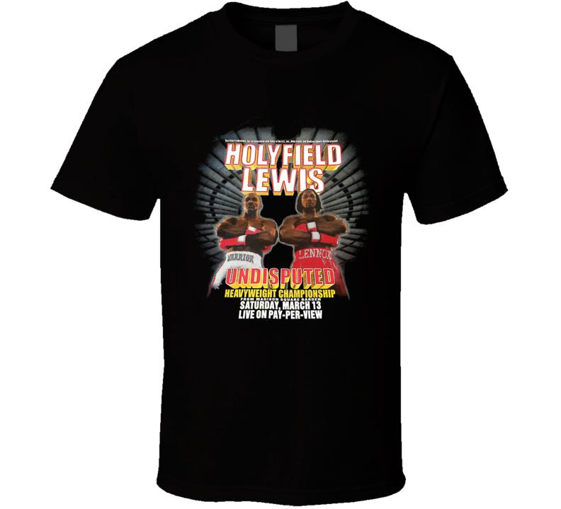 Holyfield vs Lewis Boxing T Shirt