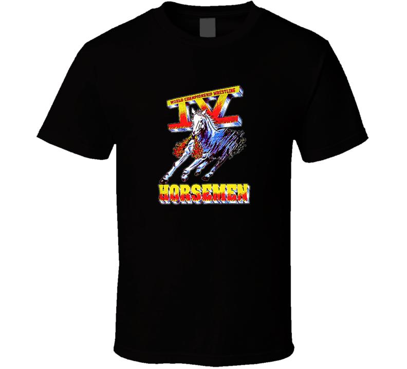 Four 4 Horsemen WCW Legends Wrestling T Shirt