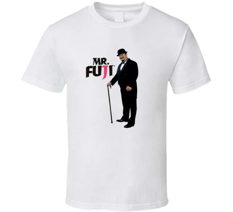 Mr. Fuji WWF Legend Wrestling T Shirt