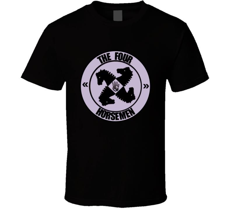 The Four Horsemen Retro Logo WCW Wrestling T Shirt
