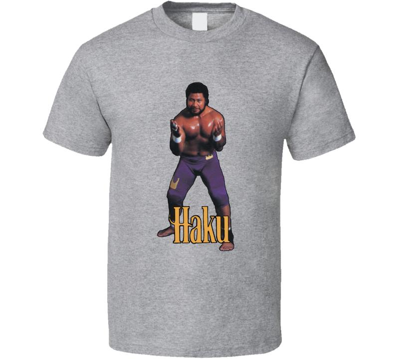 Haku WWF Retro Wrestling T Shirt