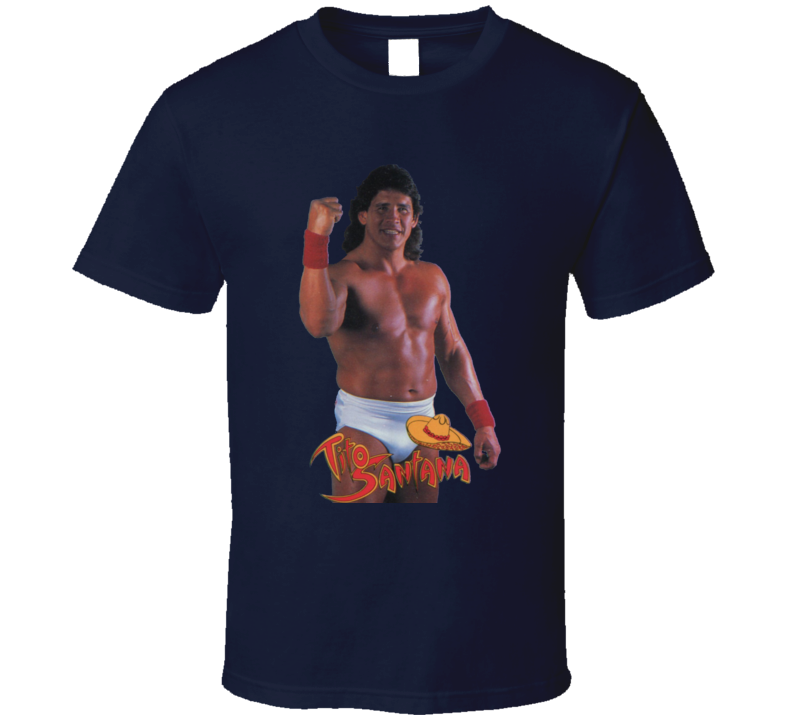 Tito Santana WWF Classic Wrestling T Shirt