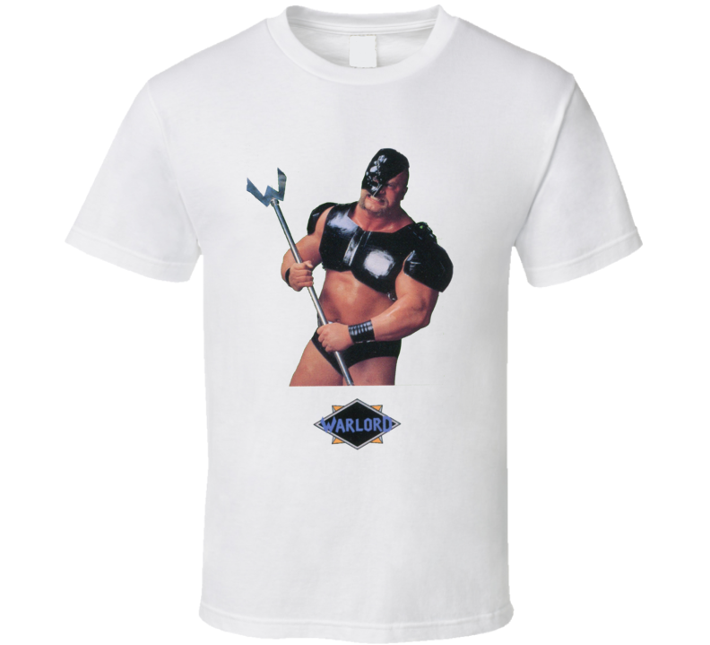 Warlord WWF Retro Wrestling T Shirt