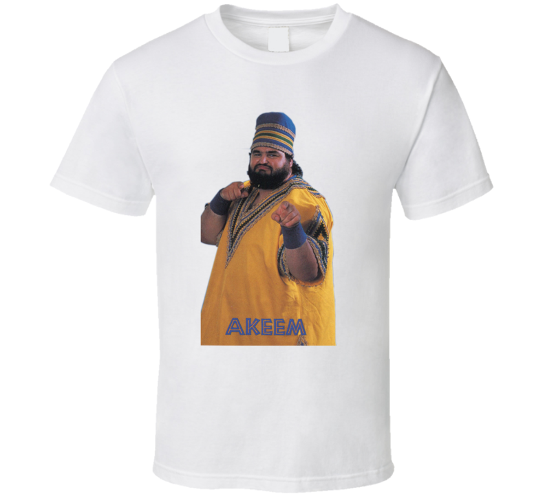 Akeem the Dream WWF Retro Wrestling T Shirt