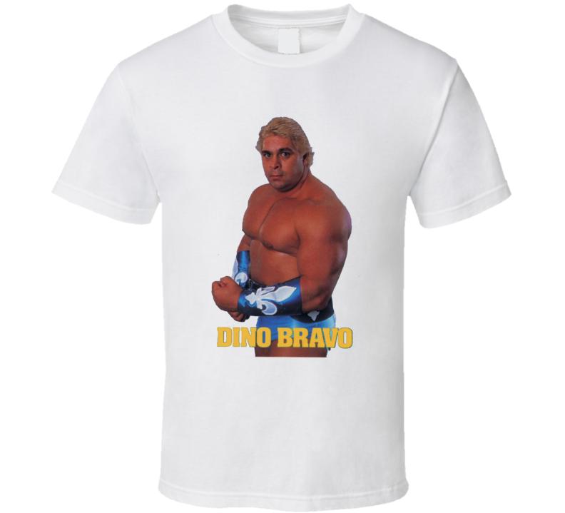 Dino Bravo WWF Retro Wrestling T Shirt