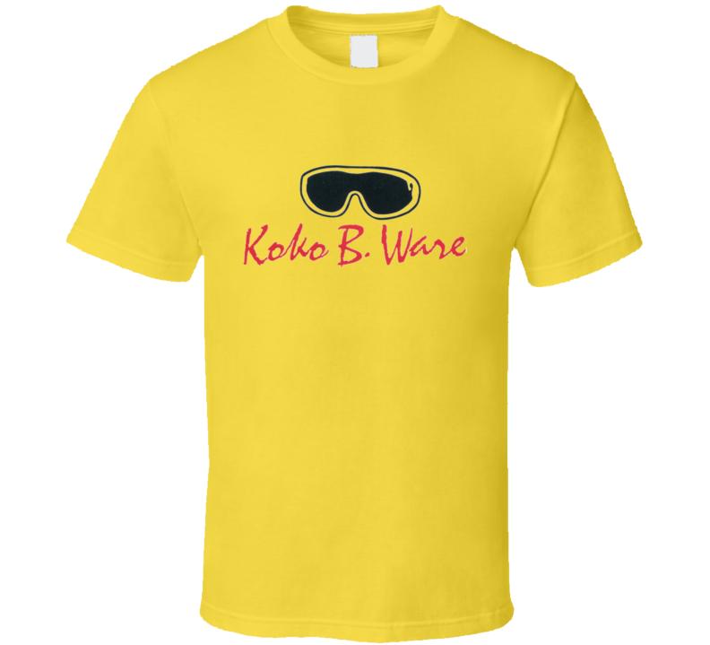 Koko B Ware WWF Wrestling Legend T Shirt