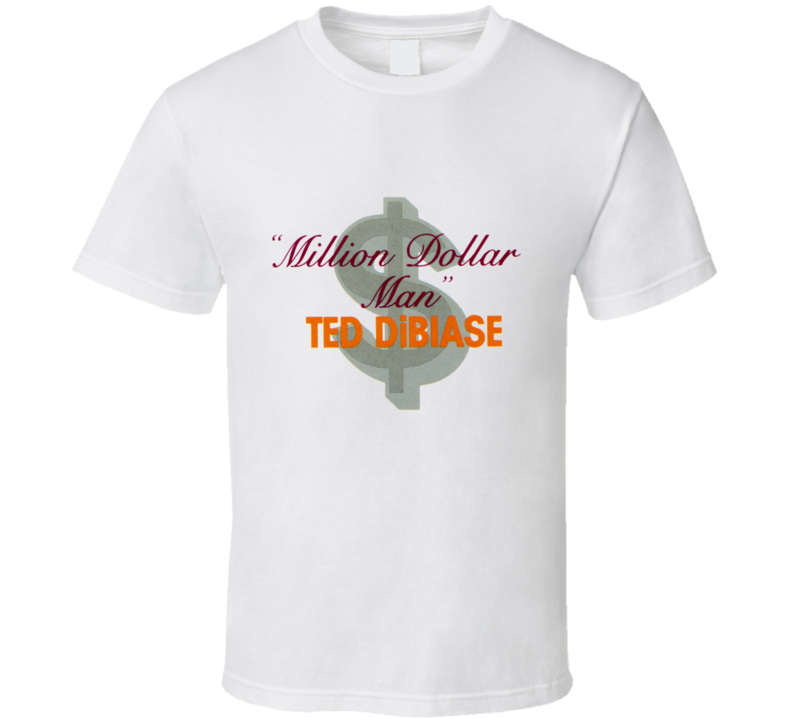 Million Dollar Man Ted Dibiase WWF Logo T Shirt