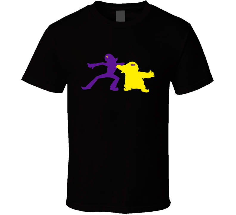 Wario and Waluigi Duo Nintendo Video Game T Shirt