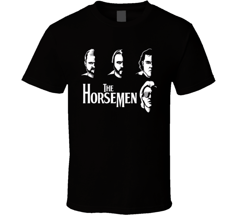 The Original Four Horsemen WCW Legends Wrestling T Shirt