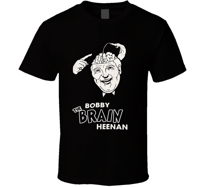 Bobby The Brain Heenan WWF Manager Wrestling T Shirt