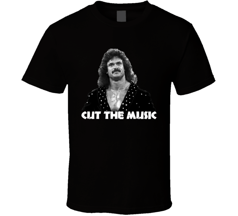 Ravishing Rick Rude Cut The Music Wrestling T Shirt