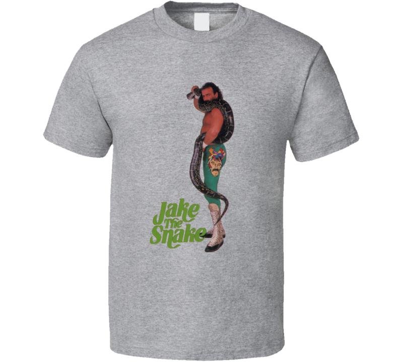 Jake The Snake Roberts Wrestling Legend T Shirt