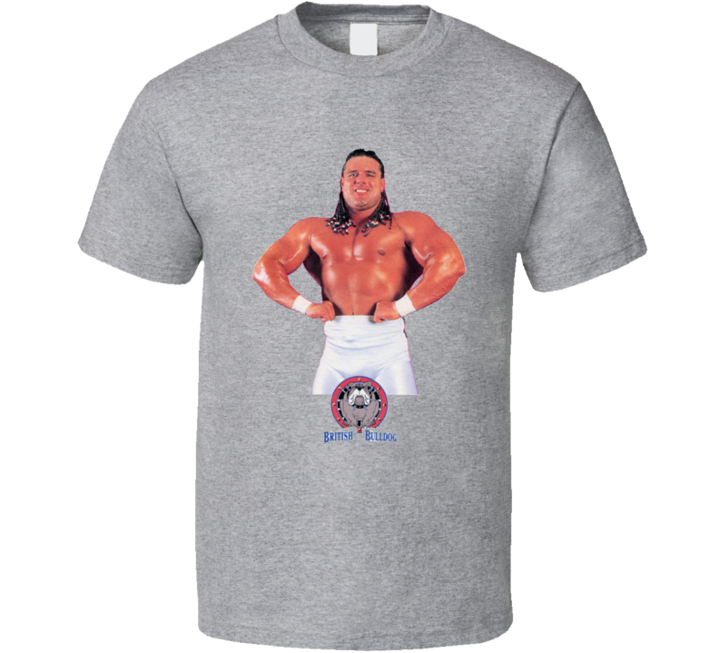 The British Bulldog Wrestling Legend T Shirt