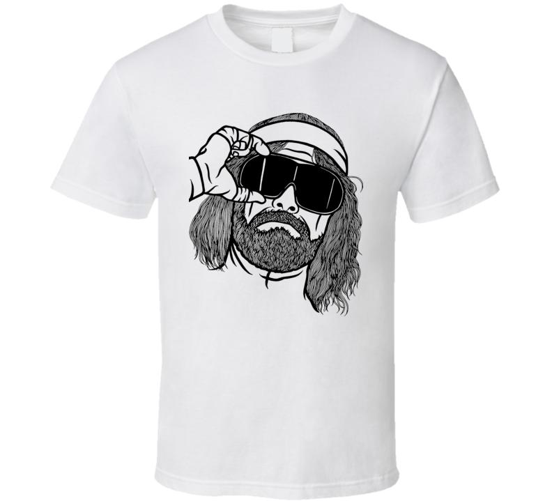 Macho Man Randy Savage 80s Wrestling T Shirt