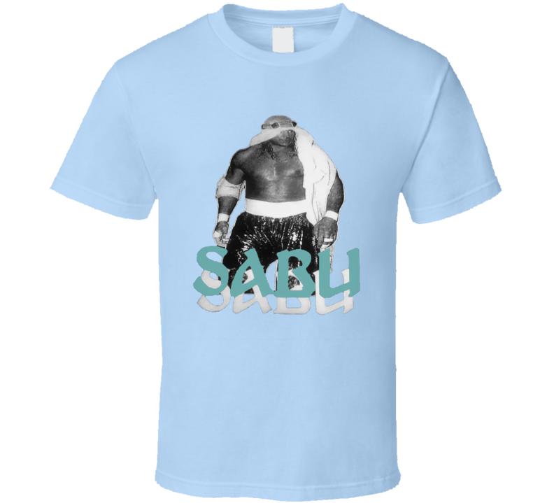 Sabu Retro Wrestling ECW T Shirt