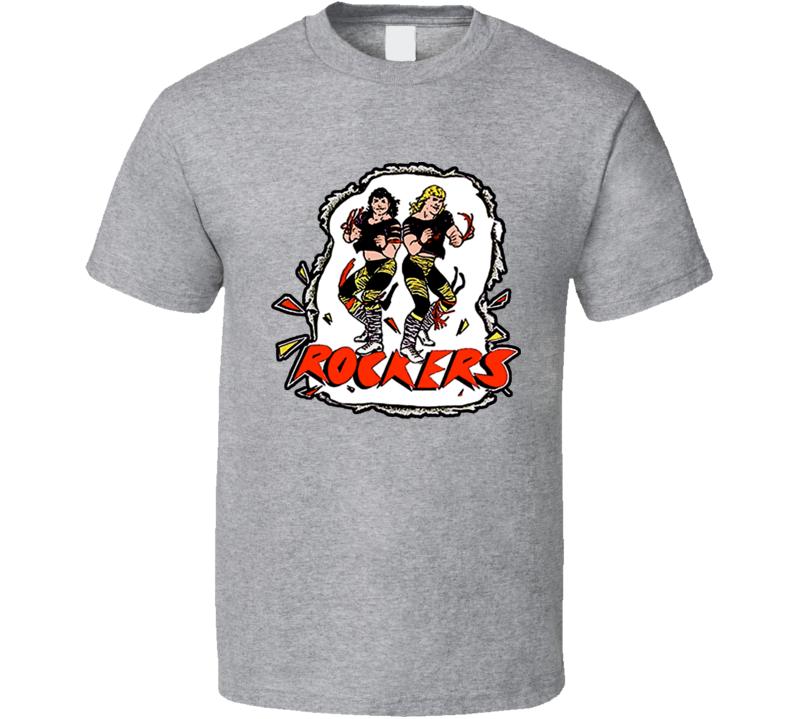 The Rockers Wrestling Tag Team Retro T Shirt