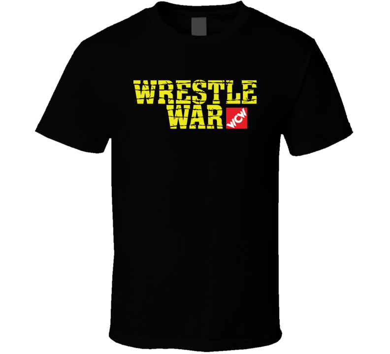 Wcw Wrestle War Retro Wrestling T Shirt