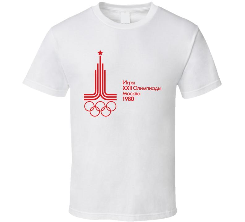 Moscow Olympics Logo 1980 T Shirt