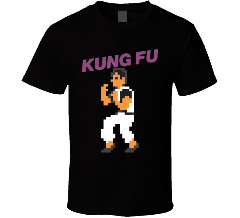 Kung Fu Nes Classic Video Game T Shirt