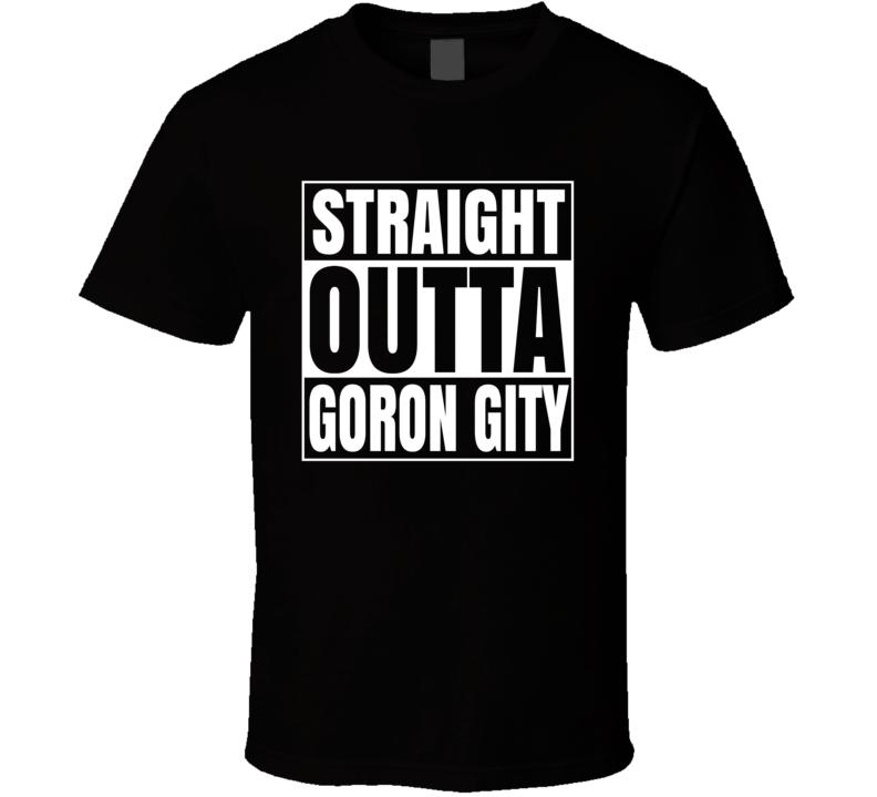 Straight Outta Goron City Legend Of Zelda T Shirt
